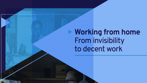 OIT publica informe sobre trabajo a domicilio